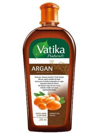 """Масло для волос VATIKA Moroccan Argan, """"Мягкое увлажнение"""", 200 мл."""